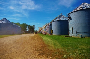 Grain Bins and Augers