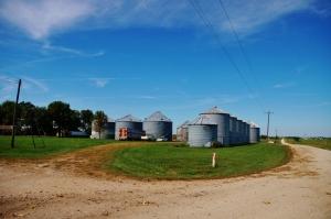 Kirksville Grain Bins